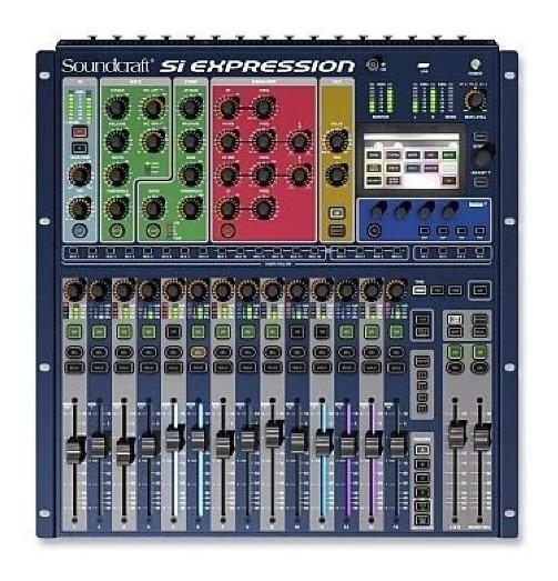 Mesa Digital Soundcraft Si Expression 1 | 16 Canais | Harman