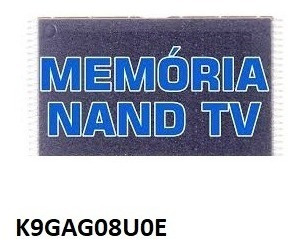 Memória Nand Samsung Original Gravada K9gag08u0e Un32d5500