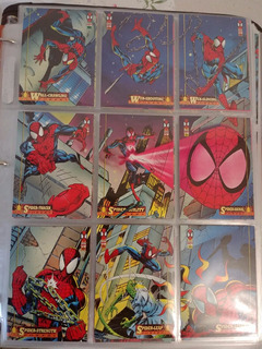 Tarjetas Spiderman 1994 Coleccion Marvel (166 En Total)