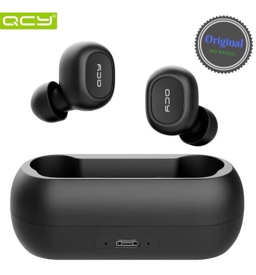 Fone Qcy Qs1 T1 Bluetooth 5.0 Original - No Brasil -