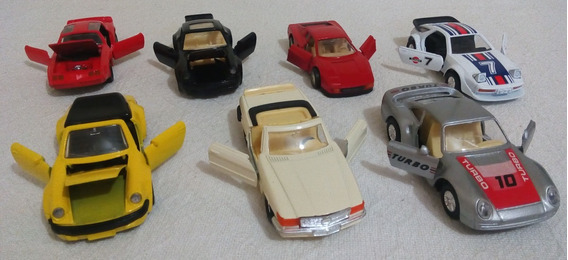 Colección 7 Carritos Carros Escala 1/38 Variados Calidad