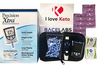 Paquete De Medidor De Monitorización De Glucosa Y Ceton...