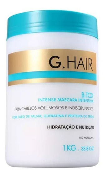G Hair Máscara Intensiva B-tox 1kg