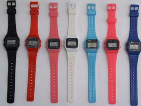 10 Relógios Vintage Pulso Retro Barato Infantil Coloridos