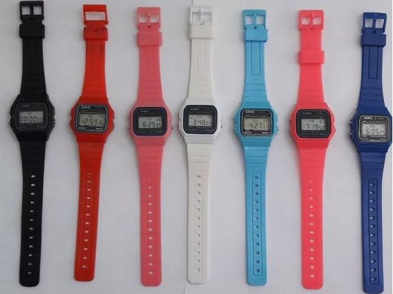 10 Relógios Vintage Pulso Retro Infantil Coloridos