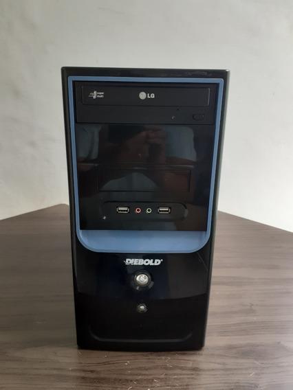 Cpu Diebold Intel Core 2 Quad 2.33ghz Hd500 03gb Dvd Brinde