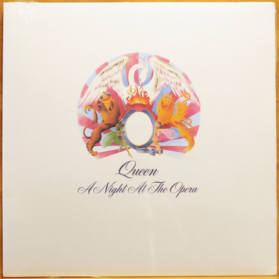Lp Queen - A Night At The Opera ( Importado / Novo / 180gr )