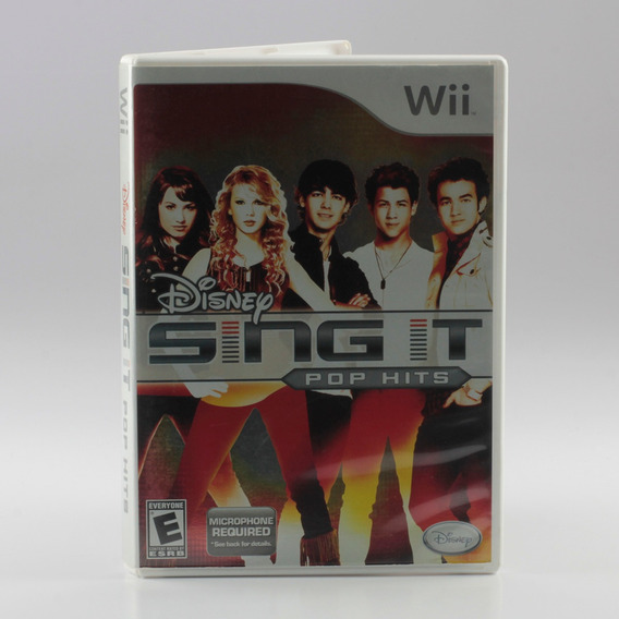 Disney Sing It Pop Hits Wii Nintendo Wii Mídia Física