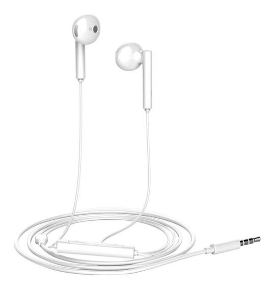 Audífonos Manos Libres Huawei Original Mate P8 P9 P10 Blanco