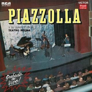 Vinilo Astor Piazzola Teatro Regina Lp