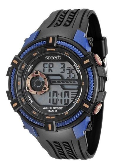Relógio Masculino Speedo Esportivo 0evn-p3 100 Metros