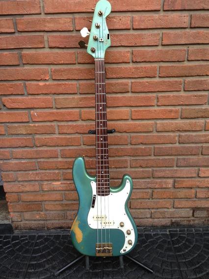 Fender Special Precision Bajo Activo Made In Usa 1980