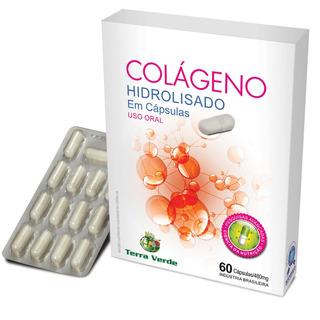 Colágeno Hidrolisado 60 Cápsulas 480mg