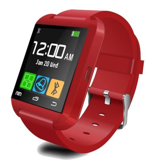 Fralugio Smart Watch U8 Fulltouch Llamadas Y Notificaciones