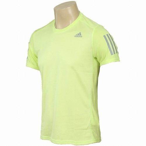 Playera Para Hombre Marca adidas Wear Ce7259 Amarillo Neón