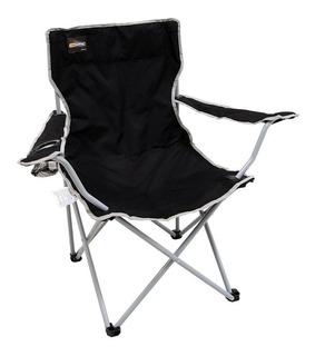 Cadeira Dobrável Nautika Alvorada Com Bolsa P/ Camping Pesca
