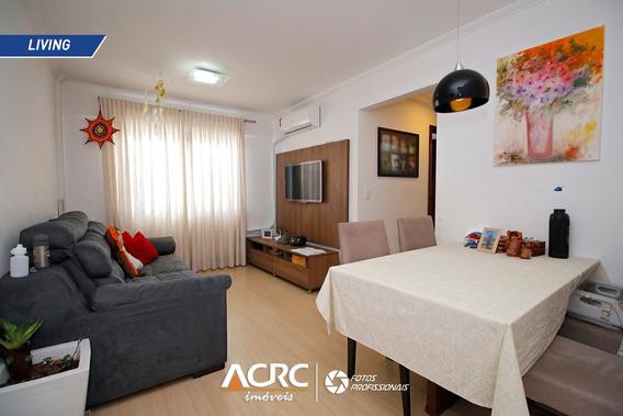 Acrc Imóveis - Apartamento Semi Mobiliado Para Venda Na Água Verde - Ap03309 - 34893065