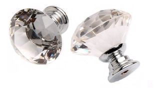 Paquete Jaladeras Cristal Diamante Herrajes Perillas Manijas