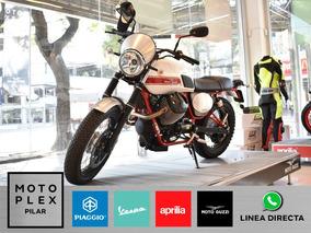 Moto Guzzi V7 Stornello 750i Motoplex Pilar 2018 0km Nueva