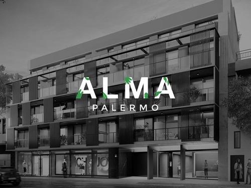 Departamento 1 Ambiente - Palermo