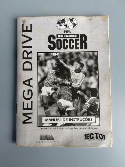 Antigo Manual Mega Drive Fifa International Soccer