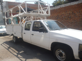 Nissan Doble Cabina 2004 Chasis Alargado Redilas