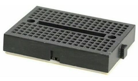 Mini Protoboard De 170 Furos - Preta