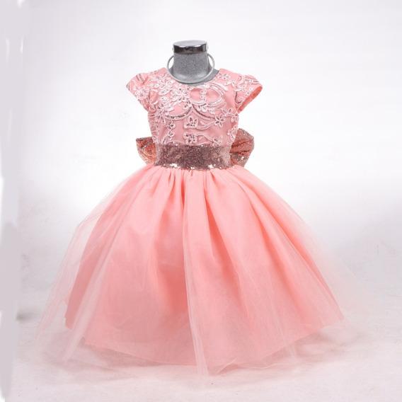 Vestido Niña Fiesta 2-3 Años Presentación Elegante