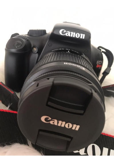 Câmera Fotográfica Cânon T3 Digital Profissional Acessórios