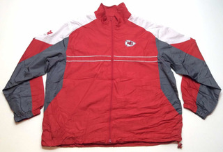 Campera Rompeviento Kansas City Chiefs Nfl Americana Xl