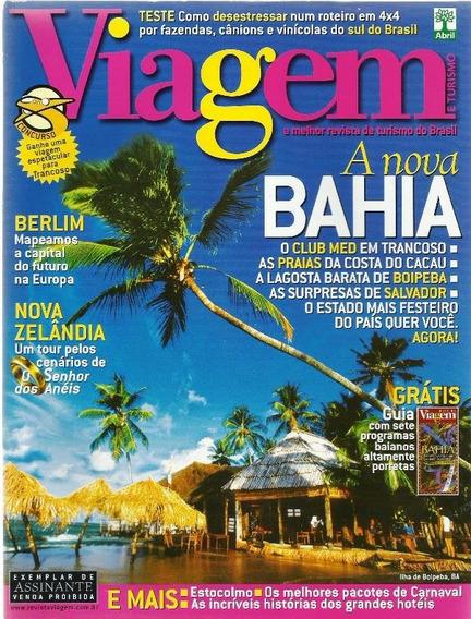 649 Rvt- 2003 Revista- Viagem- Jan- Nº 87- A Nova Bahia