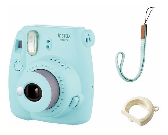 Câmera Instantânea Fujifilm Instax Mini 9 - Azul Aqua