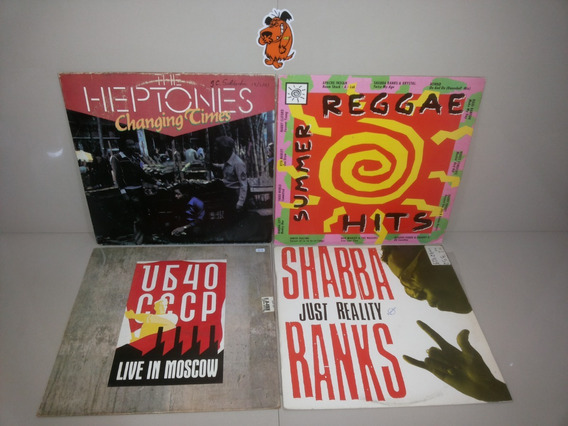 Lp Vinil Heptones Shabba Summer Reggae Hits Ub40 - Lote