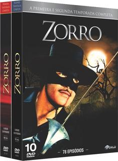 Box Zorro - Primeira E Segunda Temporada - 10 Discos