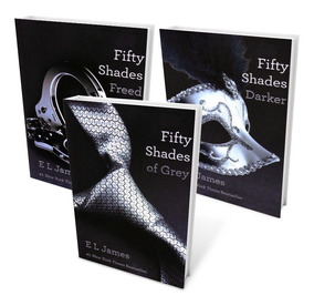 Livros Triologia Fifty Shades (cinquenta Tons De Cinza)