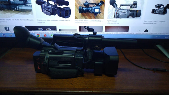 Pd 170 Sony Filmadora Mini Dv Usada Funcionando S/ Acessório