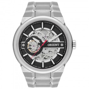 Relógio Orient Nh7ss002 P1sx Prata Masculino - Refinado