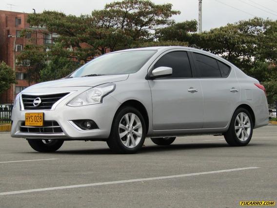 Nissan Versa Advance At 1600cc Aa 2ab Abs