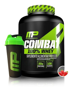 Combat 100% Whey Muscle Pharm Mp 1,8kg