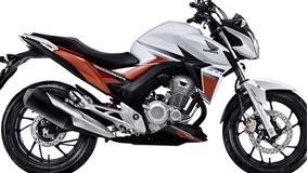 Spoiler Cb Twister 250 - Motos Design **completo+adesivos*