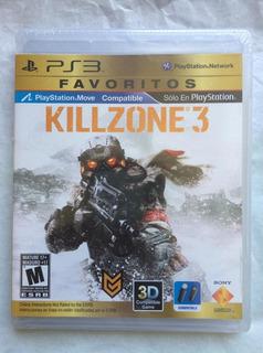 Killzone 3 Ps3. Nuevo Sellado, Envíos