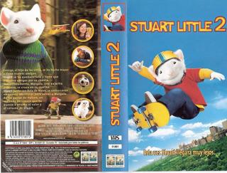 Stuart Little 2 La Aventura Continua Pelicula Vhs En Español