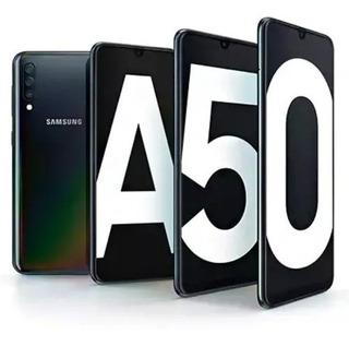 Samsung A50 4gb/64gb Nuevo + Templado Y Sd 64gb De Regalo