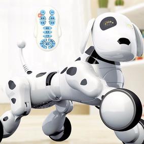 Robô Inteligente Controle Remoto Elétrico Cão Brinquedos