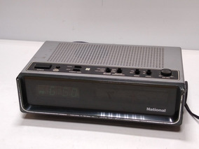 Radio Relogio National Rc 489m Funcionando Ler Descricao