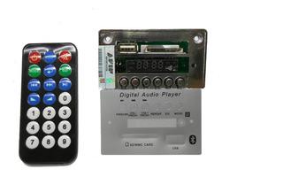 Modulo Usb Mp3 Con Control Remoto - Sin Bluetooht - Nuevo