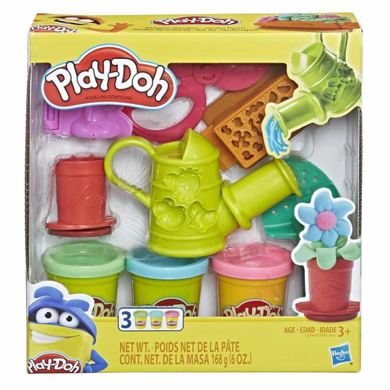 Novo Play Doh Conjunto De Jardinagem Hasbro
