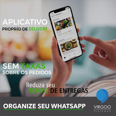 Aplicativo De Delivery - Virgoo Sistemas