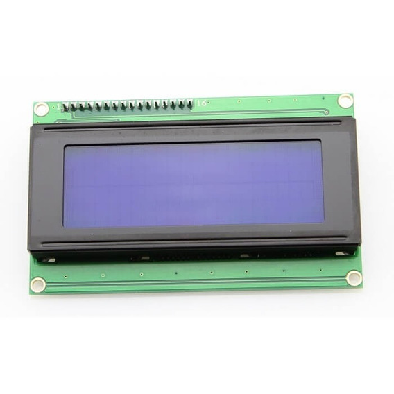 Display Lcd 20×4 I2c Backlight Azul Arduino