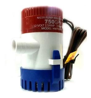Bomba De Achique Eléctrica 1100 Gph 12v Nicer Pump